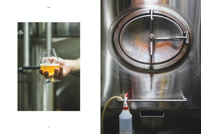 Brooklyn Beer  spread from Pasture Issue 0