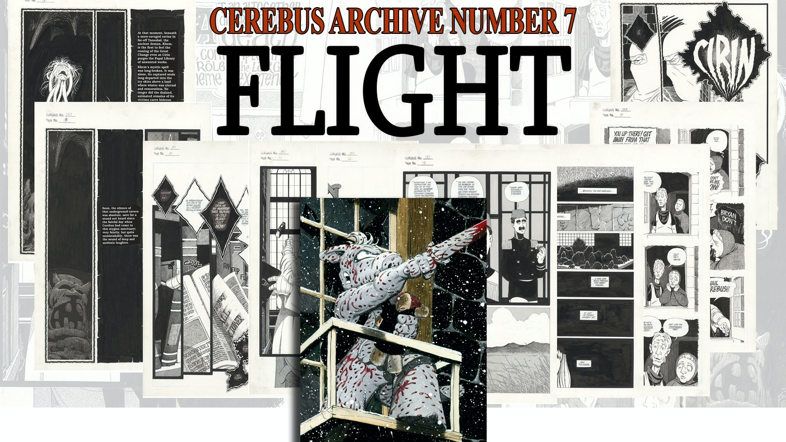 CAN7 - CEREBUS ARCHIVE NUMBER SEVEN