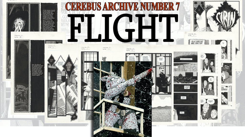 CAN7 - CEREBUS ARCHIVE NUMBER SEVEN project video thumbnail