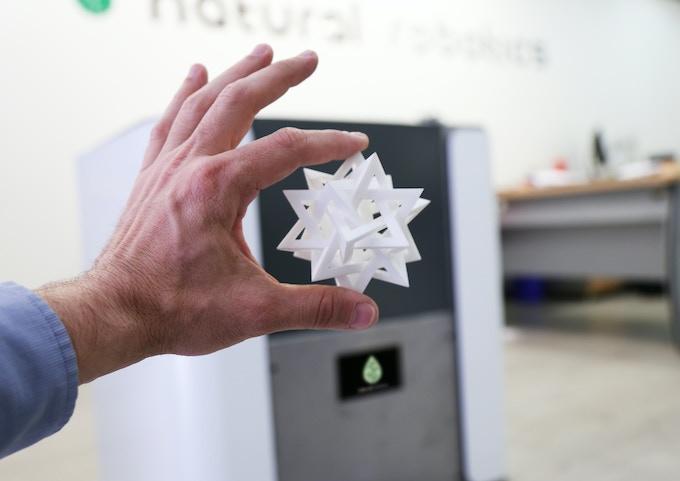 VIT 3D printer: High Quality laser sintering 3D printing by Natural