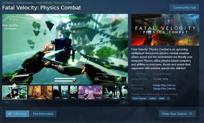 FV Steam Page