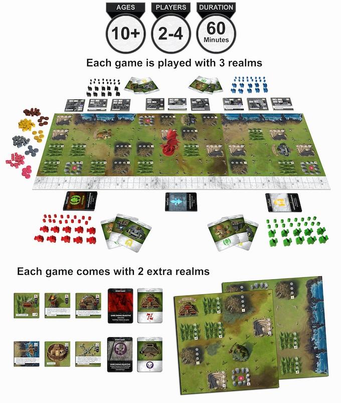 Shifting Realms By Soaring Rhino —Kickstarter