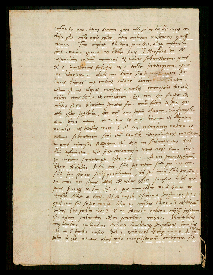 Manuscript used with kind permission of the Luthergedenkstätten