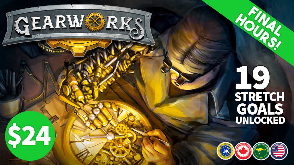 Gearworks: A steampunk strategy card game project video thumbnail