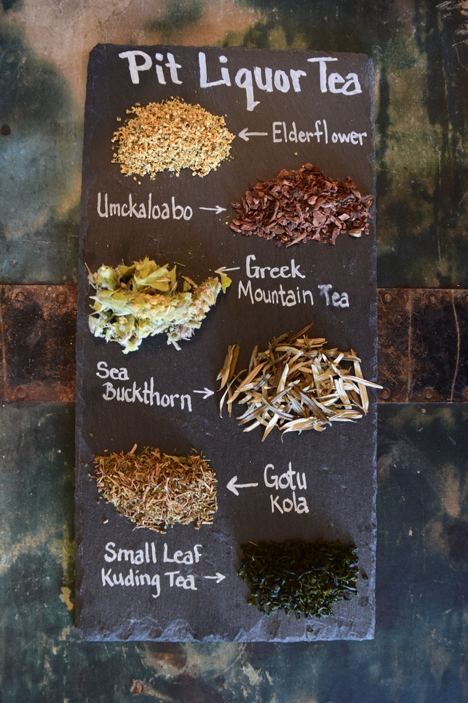 Teas Used in Pit Liquor Deodorant