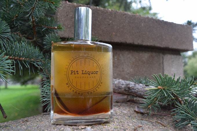 Pit Liquor Natural Toxin Free Whiskey Deodorant By