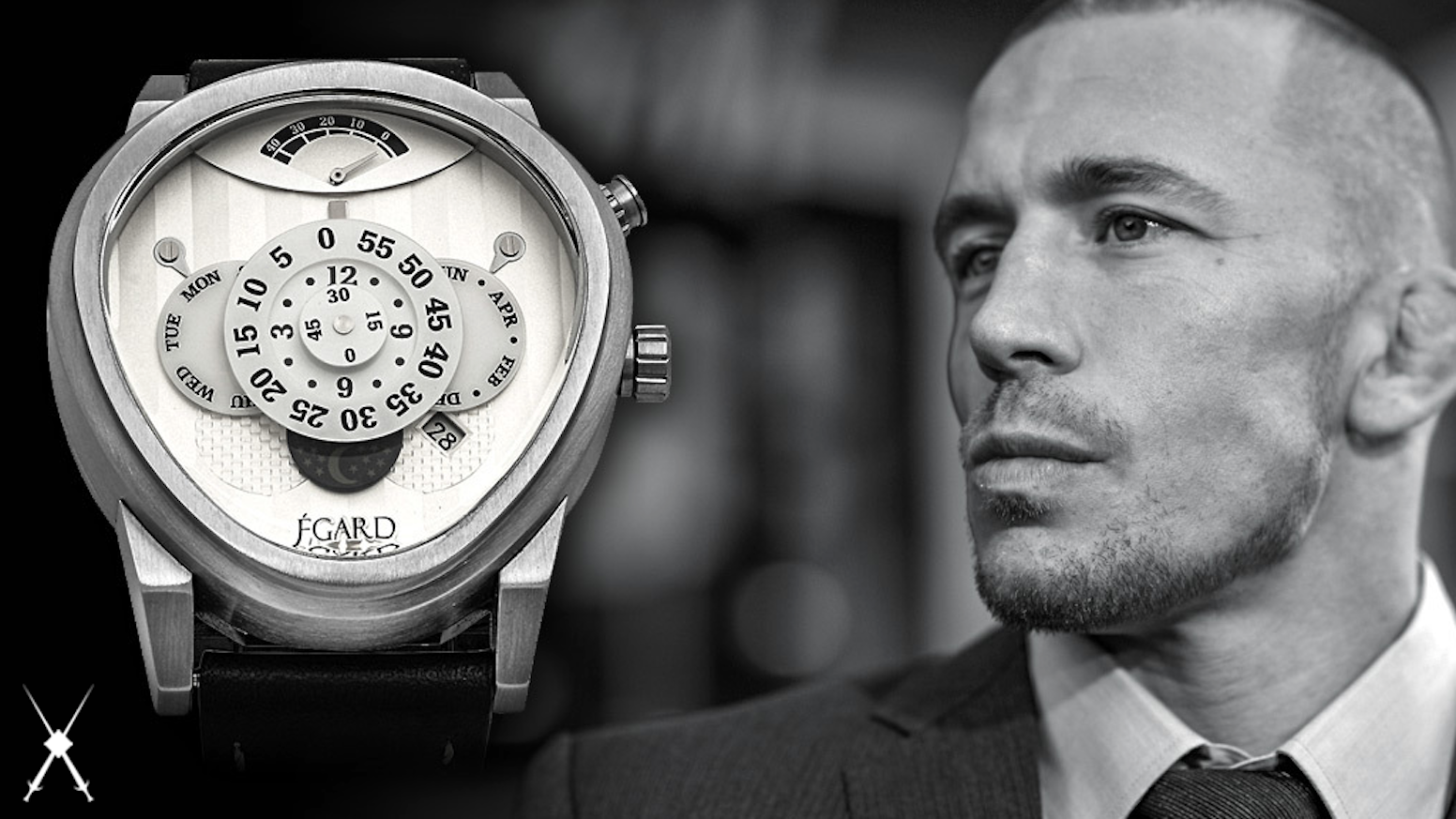 A partnership between MMA legend Georges St. Pierre and Egard Watch Co. to create a limited edition timepiece worthy of his legacy.