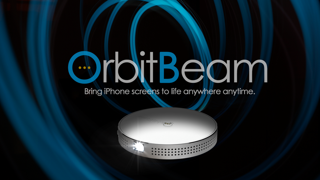 OrbitBeam | Bring iPhone Screens to Life Anywhere Anytime. project video thumbnail