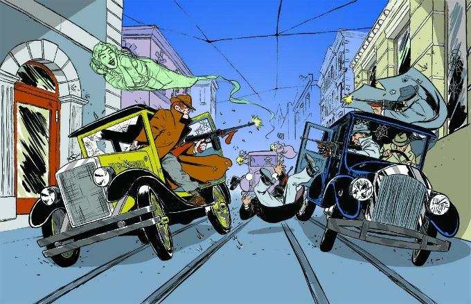 Tommy Gun Banshee Poster #2, 'Wild Chase'