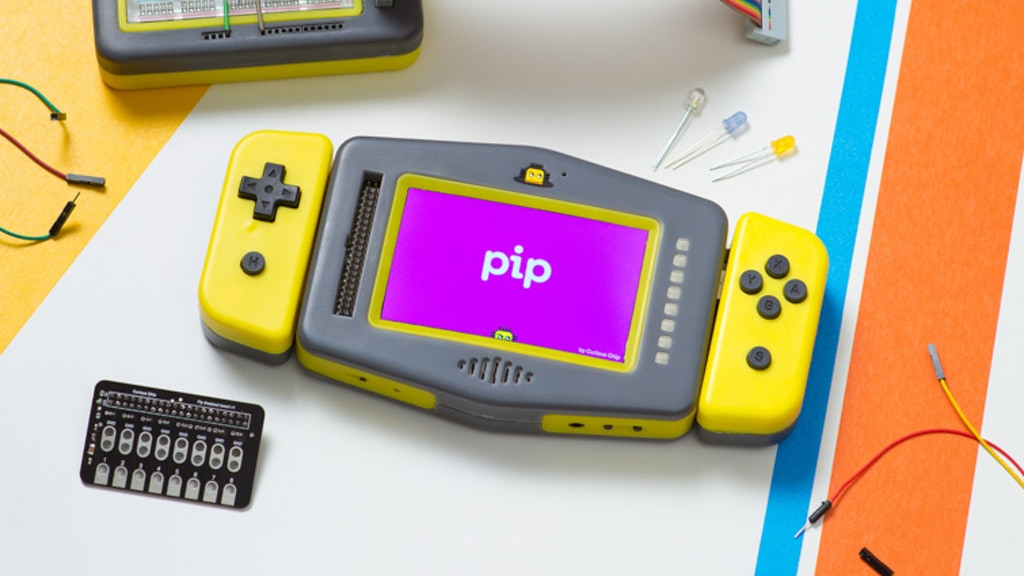 Pip - Educational Raspberry Pi Gaming Machine For Creativity