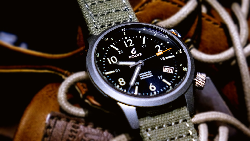 From where to wear, go afield with BOLDR Expedition Watch project video thumbnail
