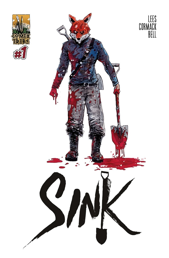 Alex Cormack cover to SINK #1