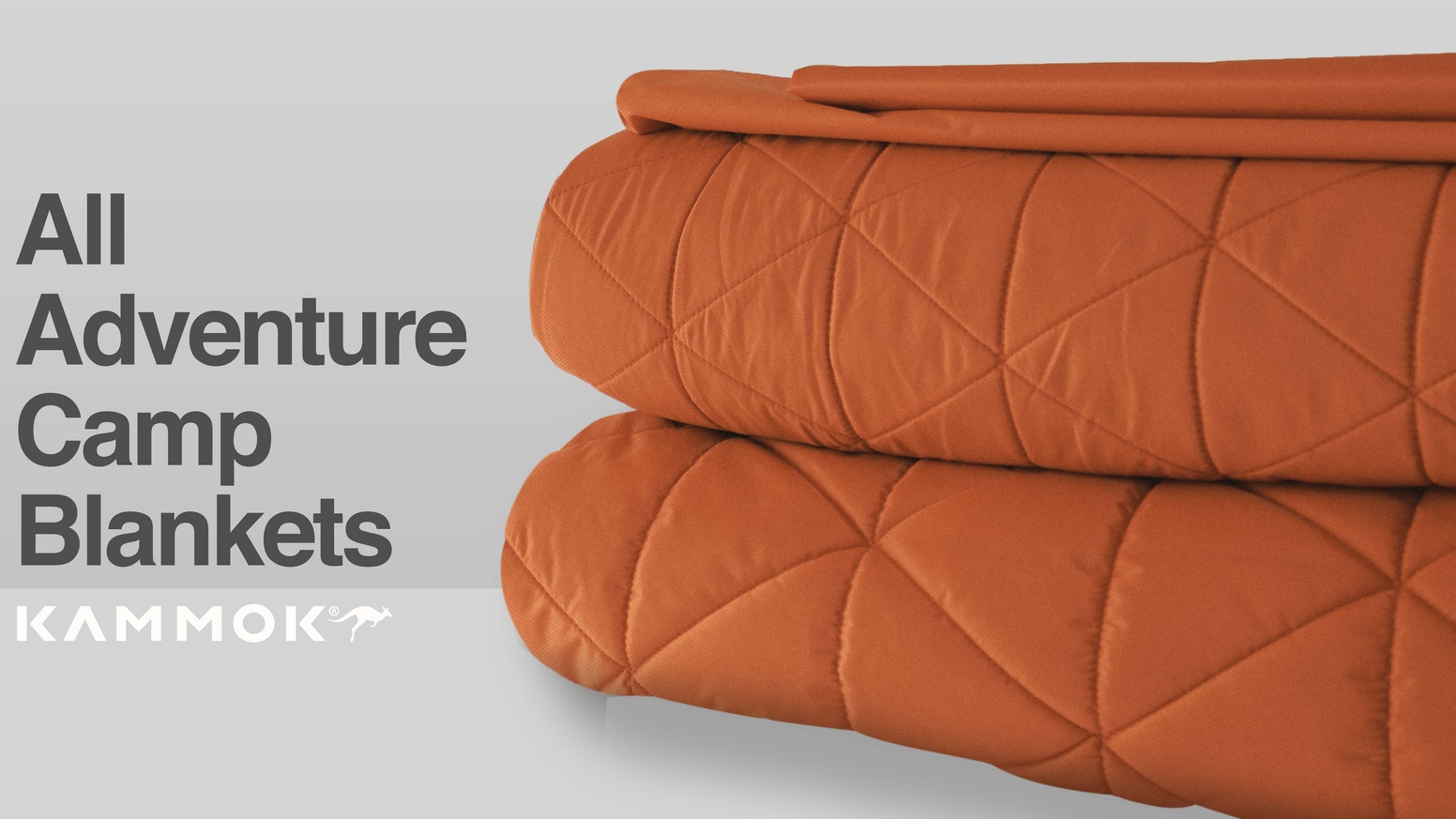 Our greatest adventures are unpredictable. Be ready for anything with Kammok's 3 part blanket system.
