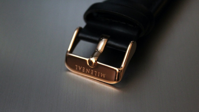 Stainless Steel Engraved Buckle