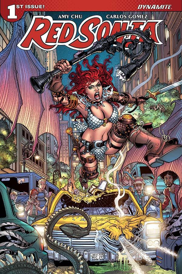 Red Sonja #1 Digital Comic