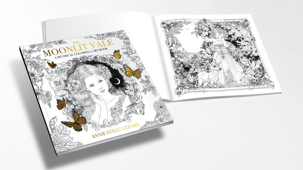 Moonlit Vale: Art and Coloring Book by Annie Stegg Gerard project video thumbnail