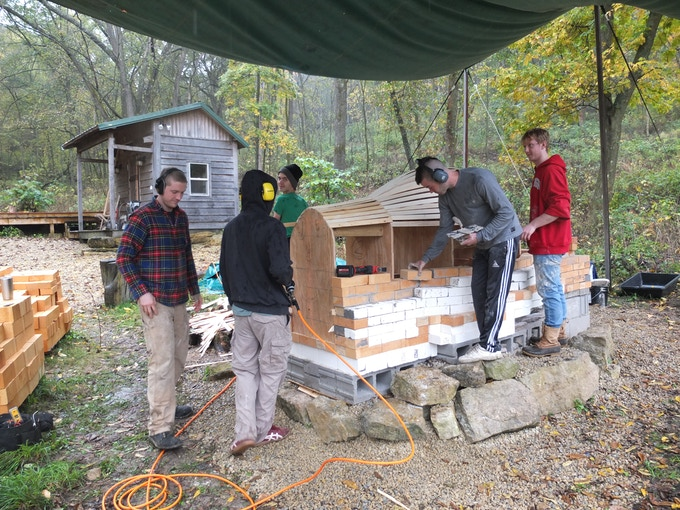 Building the Kiln Week 3