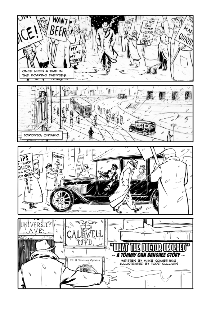 'What the Doctor Ordered' (Toronto Comics Mini #1)