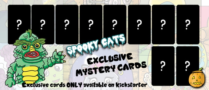 We have a total of 10 mystery cards that will eventually be revealed!