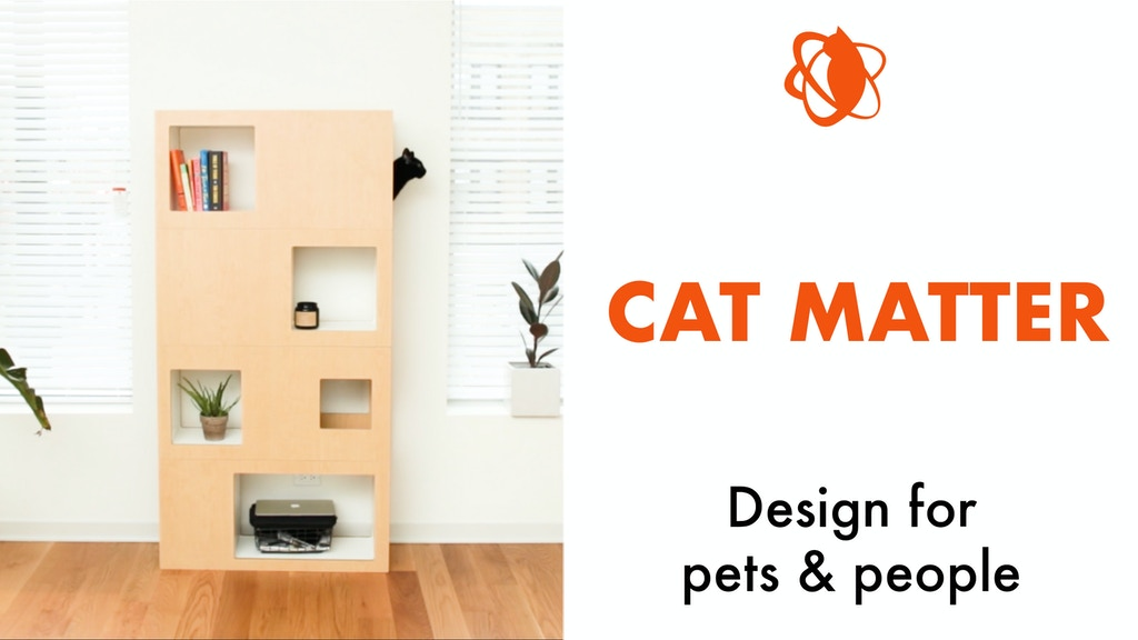The Cat Case - Pet-friendly Bookcase & Cat Tree Alternative project video thumbnail