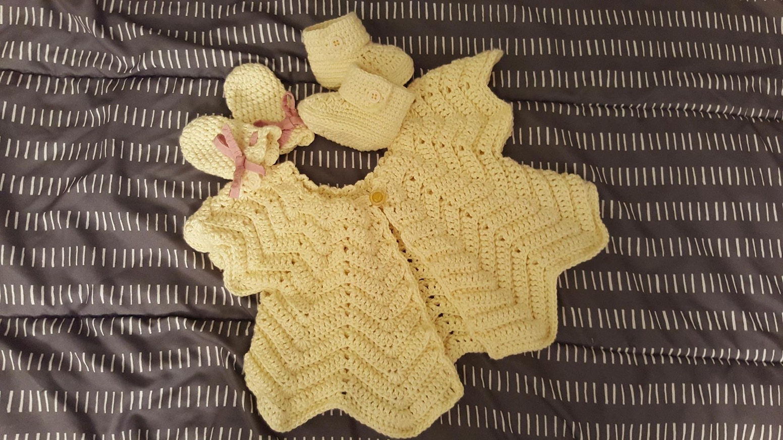 Handmade Crochet Baby Clothing Set By Wan Cheng Phua Kickstarter