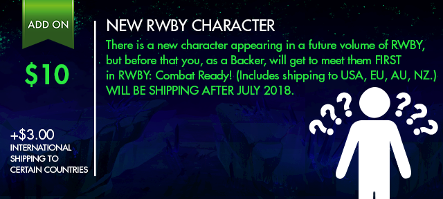 Click this image to learn more about the New RWBY Character in their update!