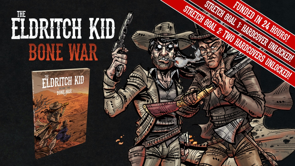 Eldritch Kid: Bone War by Christian Read and Paul Mason project video thumbnail