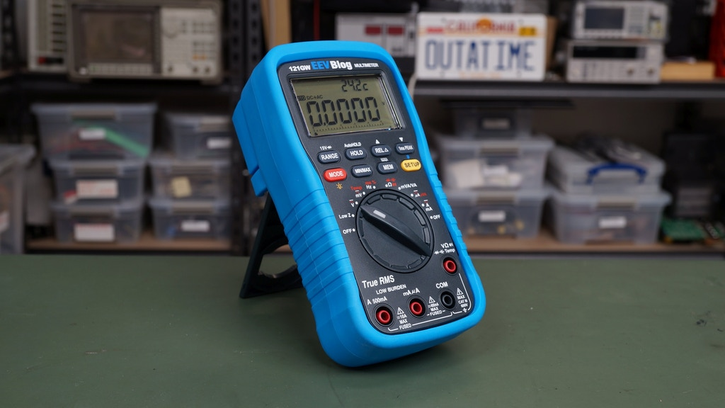 EEVblog 121GW Multimeter project video thumbnail