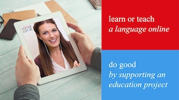 loquilove | language learning app with a good cause