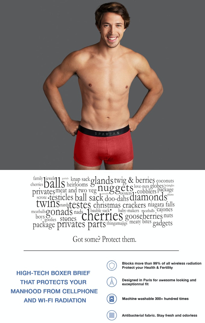 6178783badeb4 High-Tech Boxers Protecting Your Nuts From Cellphone Waves by ...