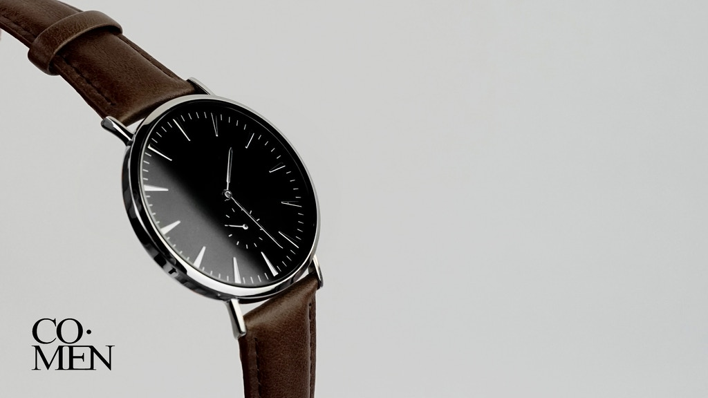 CM Classic - A minimalist timepiece for everyone project video thumbnail