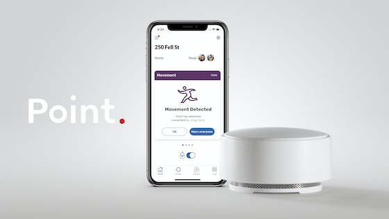 Point—the Friendly Home Alarm