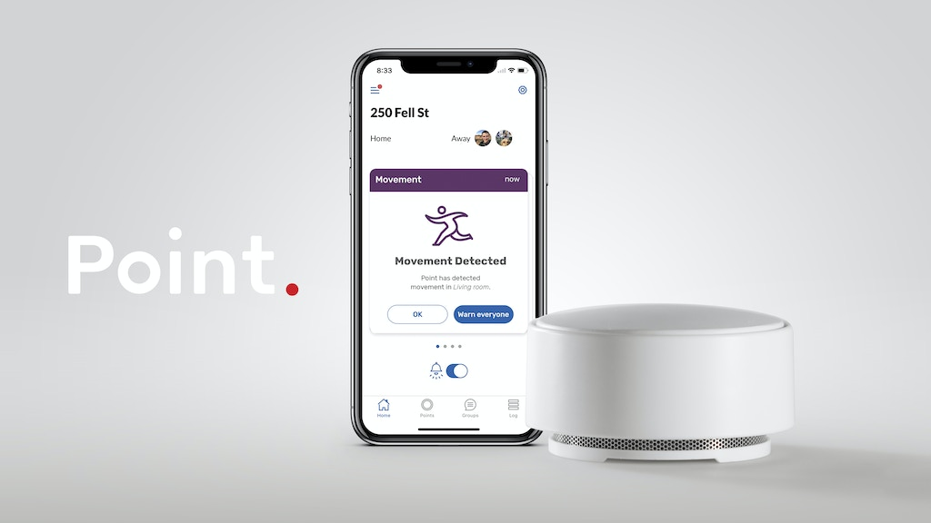 Point—the Friendly Home Alarm project video thumbnail