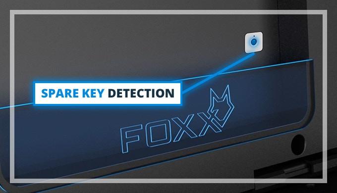 foxxvault world 39 s first smart license plate vault by mike koclanes kickstarter. Black Bedroom Furniture Sets. Home Design Ideas