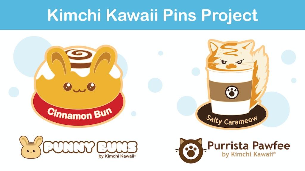 Cats and Bunnies Unite: Enamel Pins project video thumbnail
