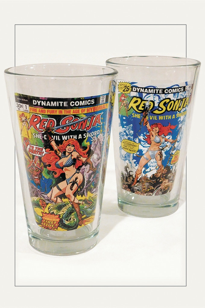 Red Sonja 2 Piece Drinkware Set