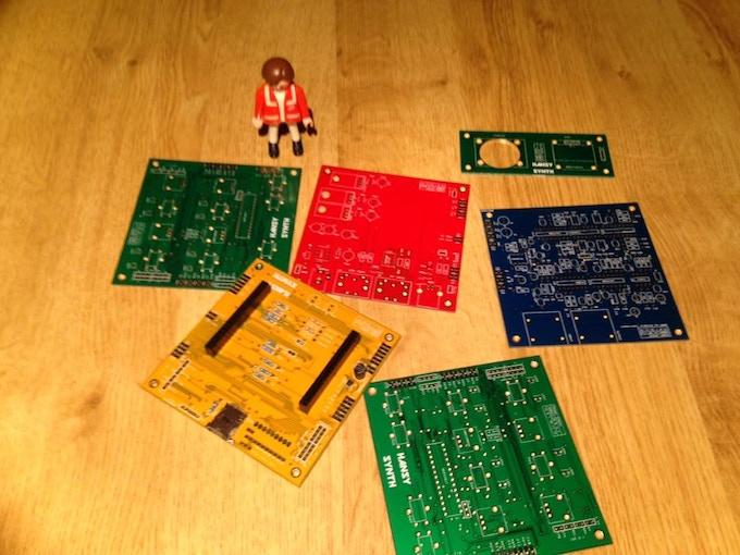 Set of PCB Processor Board Mounted