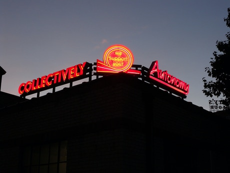 Quot Collectively We Support Your Autonomy Quot Neon Sign By