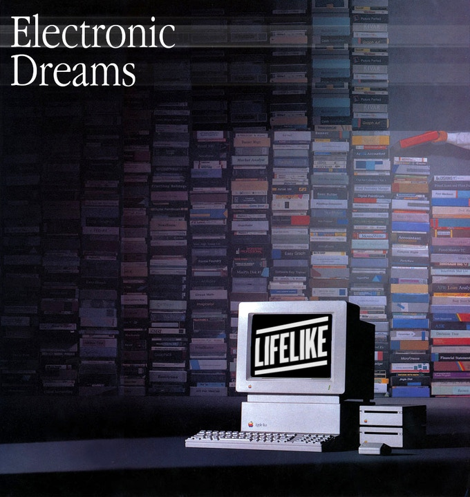"""Electronic Dreams"" - Album Sleeve"
