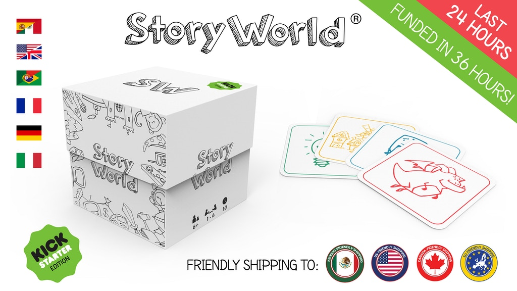 StoryWorld: A world full of stories! project video thumbnail