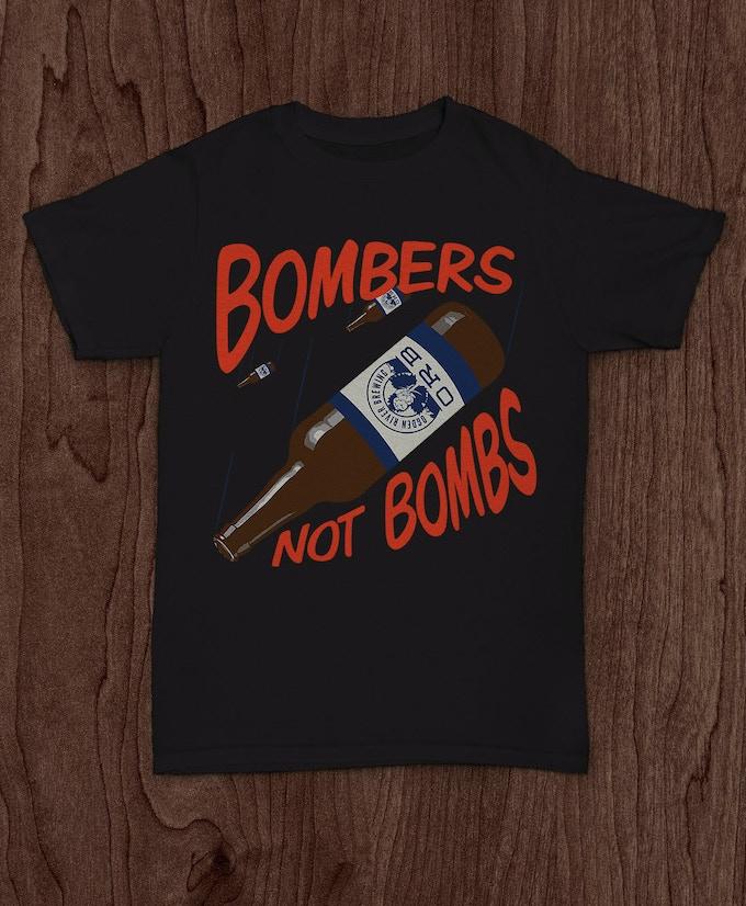B.N.B. tee shirt exclusively on kickstart