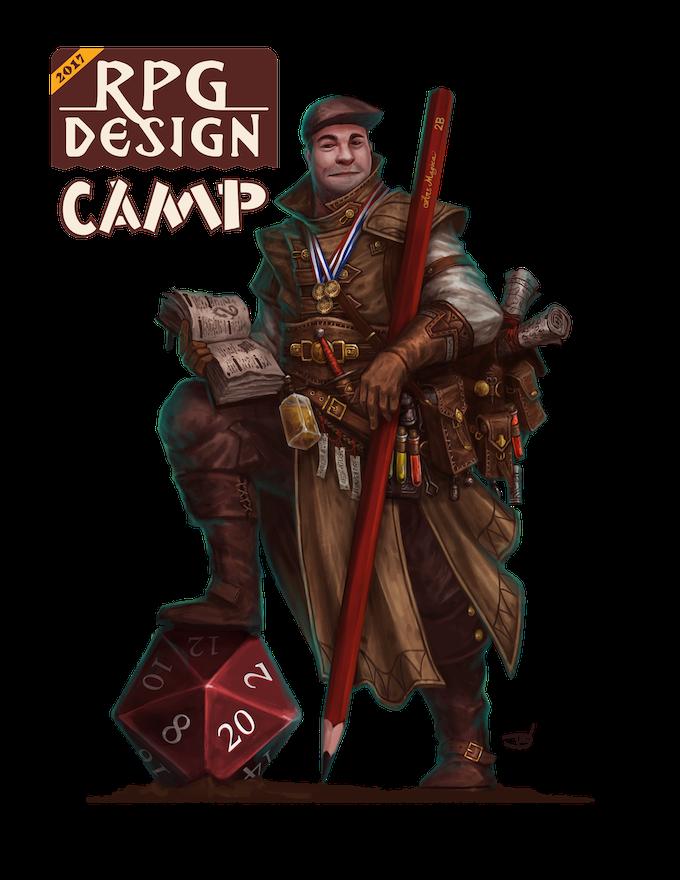 Ben McFarland: RPG Designer and all around super nice human being...
