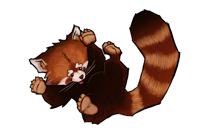 Yeah, this game has red pandas. Deal with it.