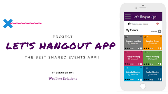 Track Let's Hangout: The Best Shared Events App!!'s Kickstarter