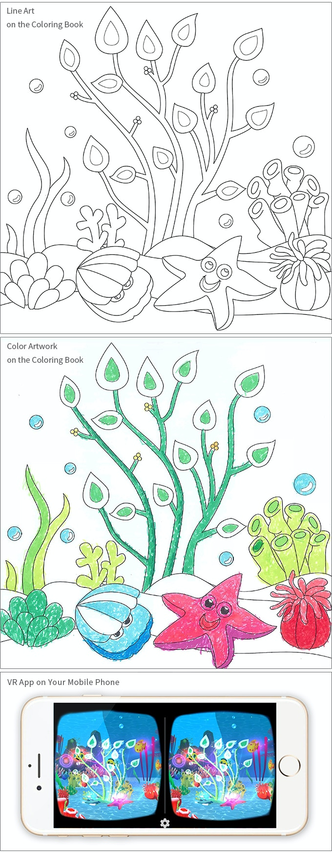 The zoology coloring book - Imagine Vr An Interactive Vr Coloring Book By If Interactive
