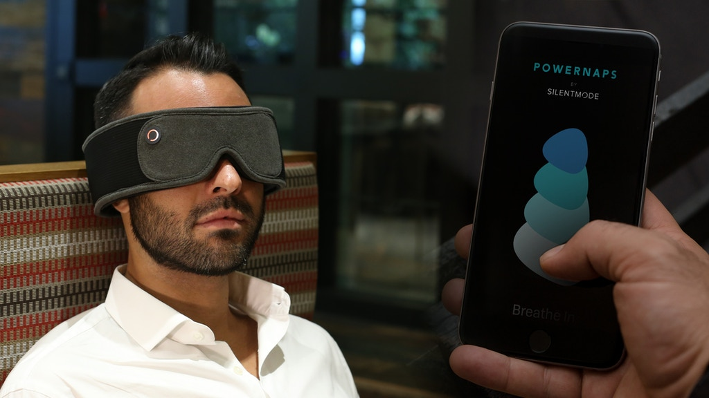 SILENTMODE : Powernap mask with immersive, high end audio project video thumbnail