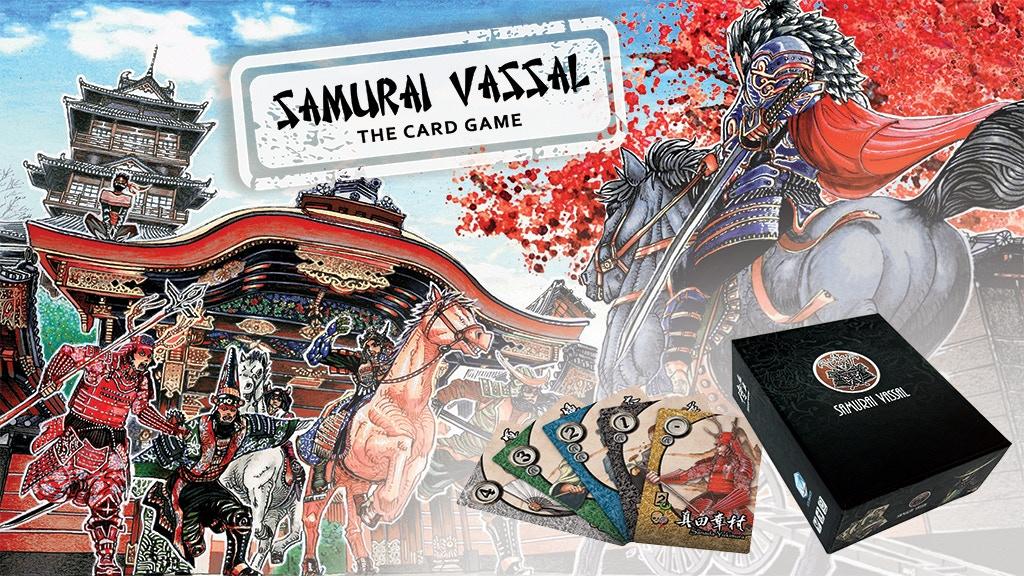 Samurai Vassal - The Card Game KS Commissions project video thumbnail