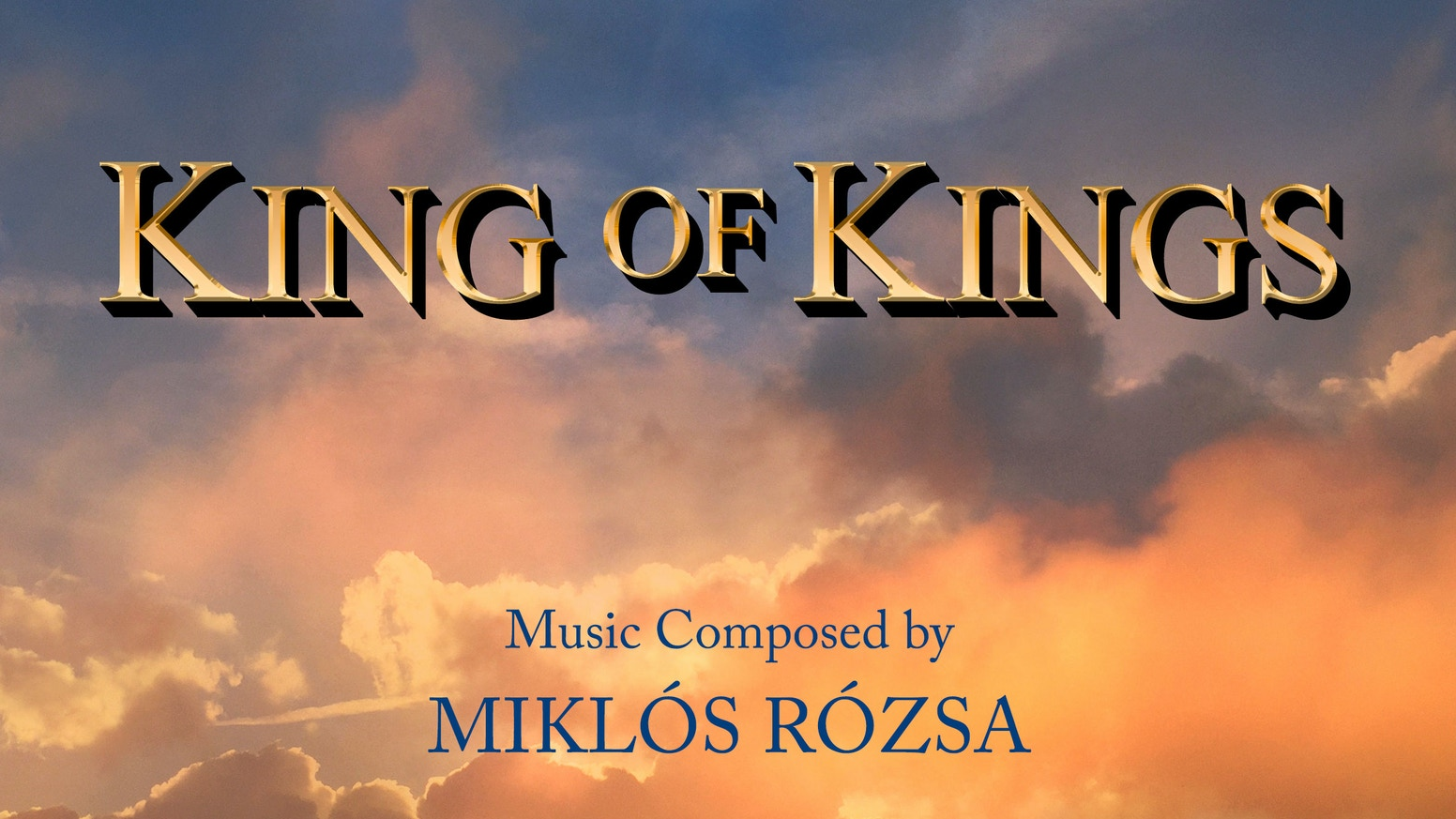 KING OF KINGS NEW RECORDING