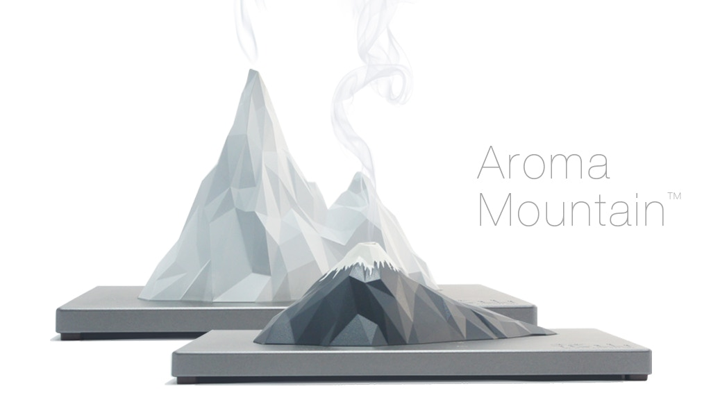Aroma Mountain: Mountain-shaped Incense Holder project video thumbnail