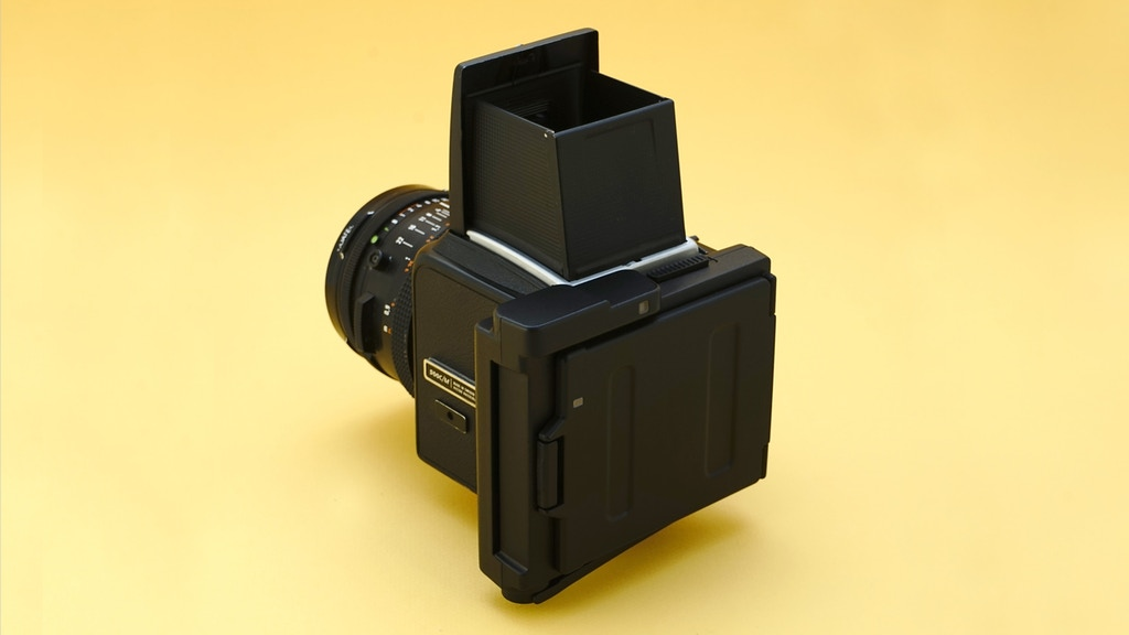 Project image for Hasselblad Square Instant Film Back (Canceled)